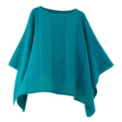mino winter yoko-L babyalpaca&wool ブルーグリーン