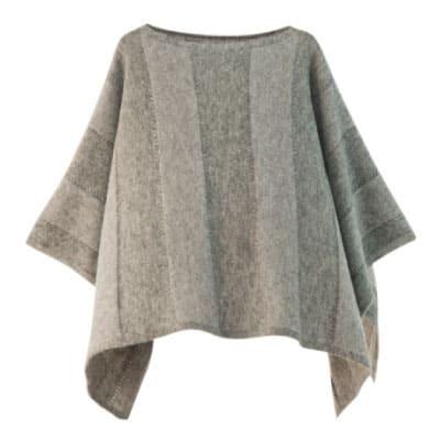 mino winter yoko-L babyalpaca&wool グレー