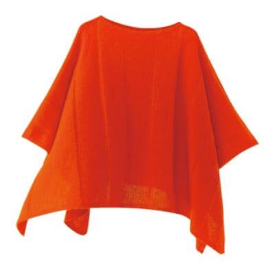 mino winter yoko-L babyalpaca&wool オレンジ