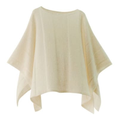mino winter yoko-L babyalpaca&wool ホワイト
